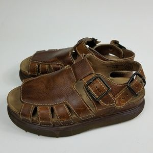 Dr. Martens Fisherman Sandals Lether Size 8